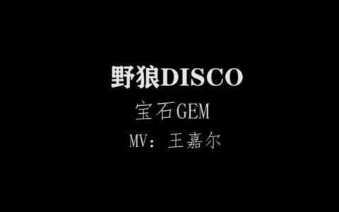 野狼disco丨野狼disco歌词_野狼迪斯科_野狼disco说唱